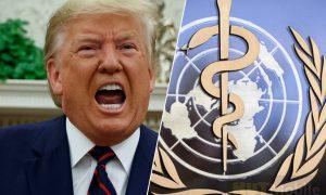 Trump threw bridges with the World Health Organization!