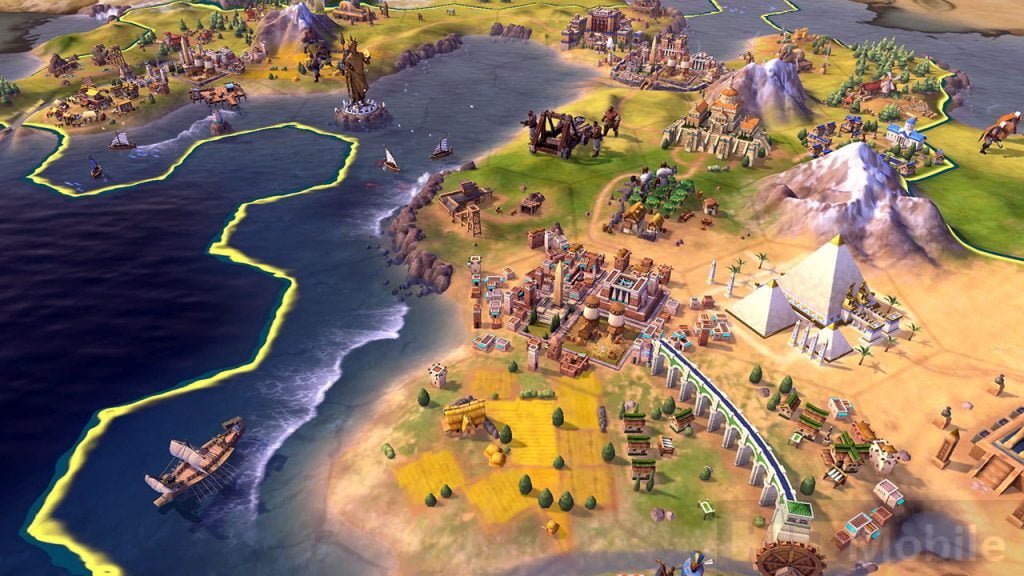 Civilization 6 is a solid console port, at too high a