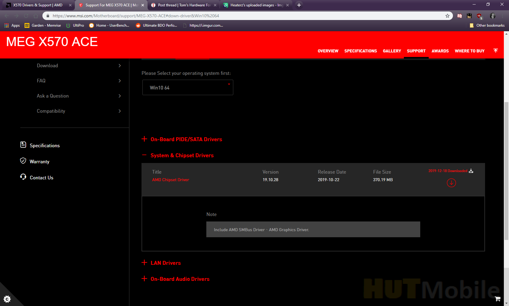 Amd Chipset Driver Download 2 04 28 626 And Amd Ryzen Master Overclocking Tool 2 2 0 1543 Hut Mobile