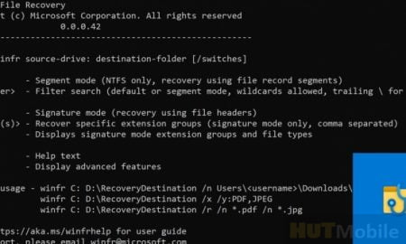 Windows File Recovery: Free tool to recover deleted files