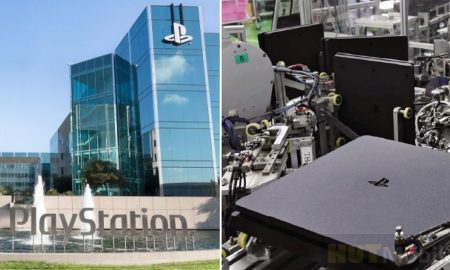Amazing speed and factory leak for PlayStation production