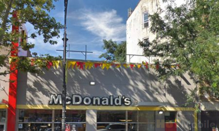 New York police arrest 18-year-old woman in roof of McDonald's roof dump