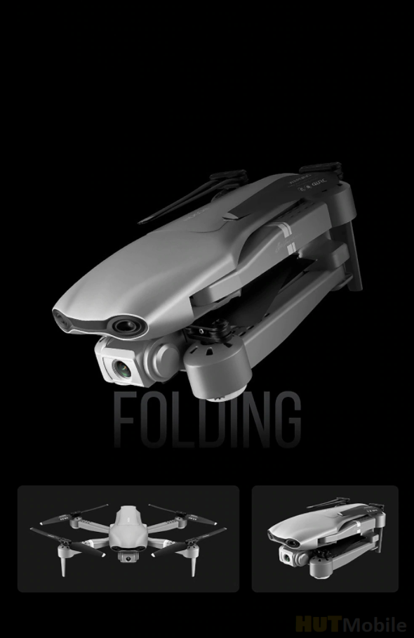 Deepaowill F3: foldable drone with 4K camera and 25 minutes of flight for $ 54