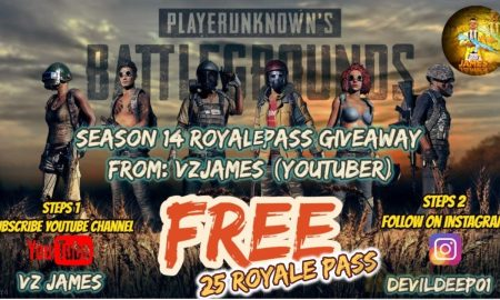 GIVEAWAY PUBG MOBILE