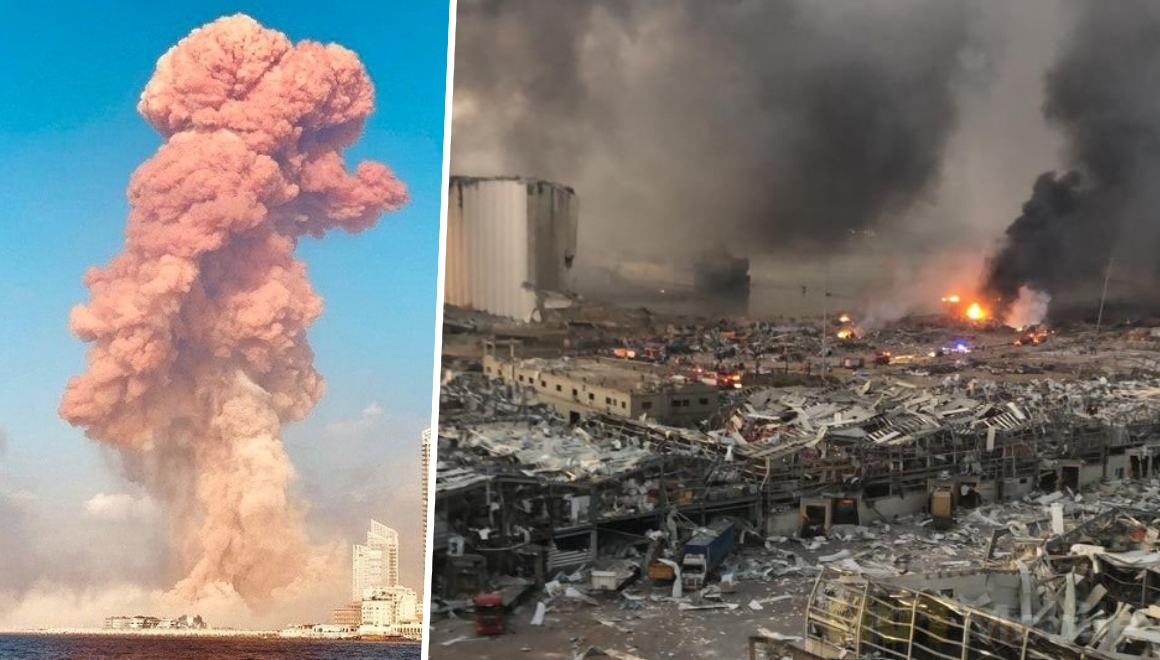 Explosion in beirut: Statement for scientists for the explosion in Beirut!