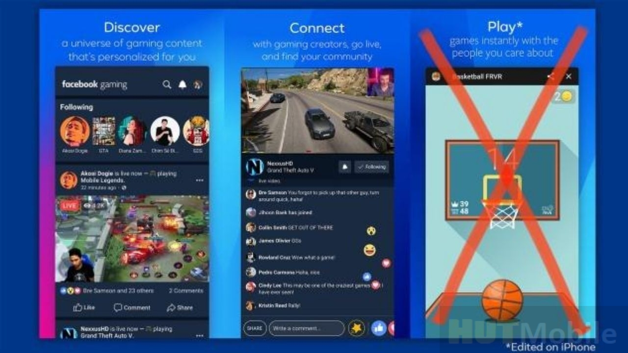 Facebook Gaming app is restricted Apple barrier to Facebook's game application!