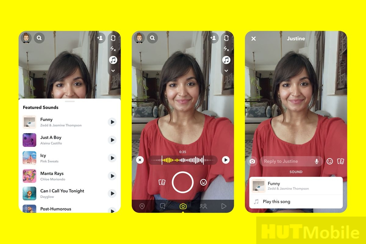 Snapchat music adding feature is on the agenda: Snapchat is on the agenda with TikTok feature