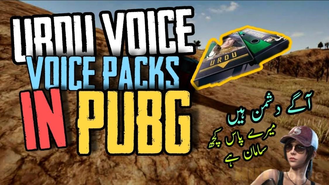 PUBG MOBILE URDU VOICE PACK Full Version Free Download