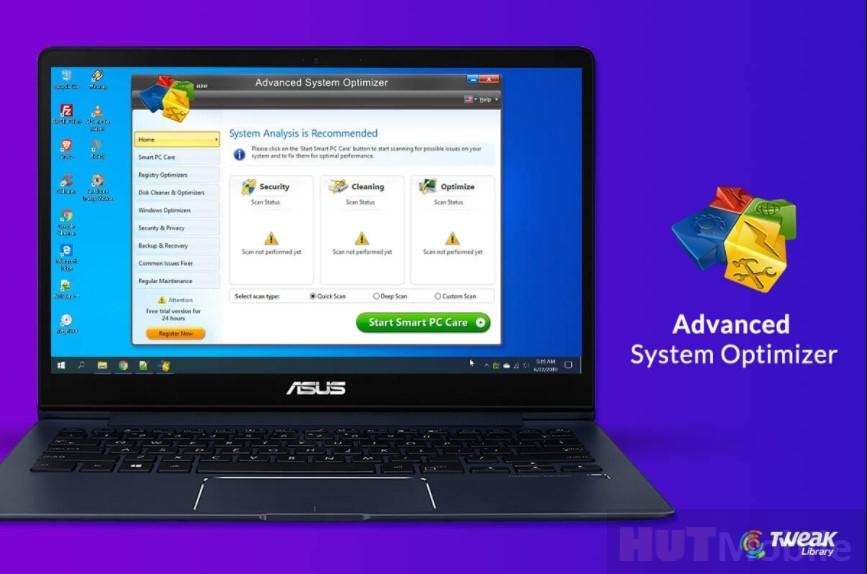 Download Advanced System Optimizer Premium Crack + Keygen Full Version