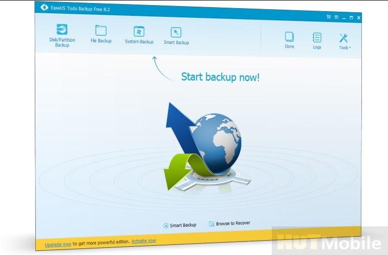 Download EaseUS Todo Backup Home Premium Crack + Keygen Full Version