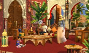 Sims 4 Courtyard Oasis Kit PS4 Download With Crack Torrent