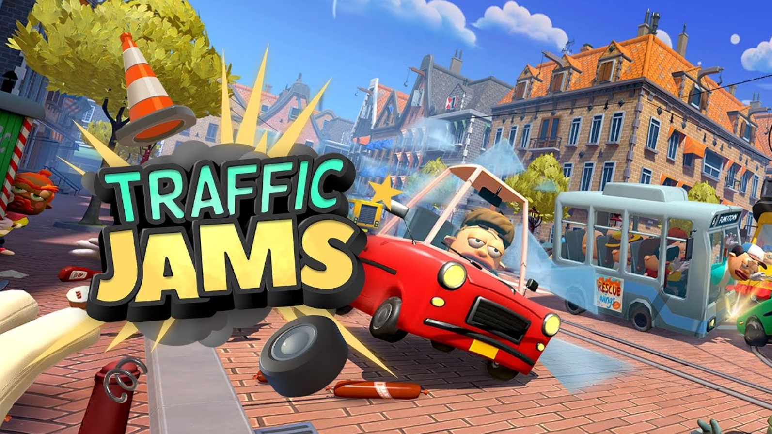 Traffic Jams Free Download Game Full Edition Direct Link