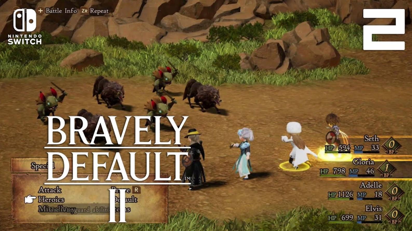 BRAVELY DEFAULT II PC Full Version Free Download