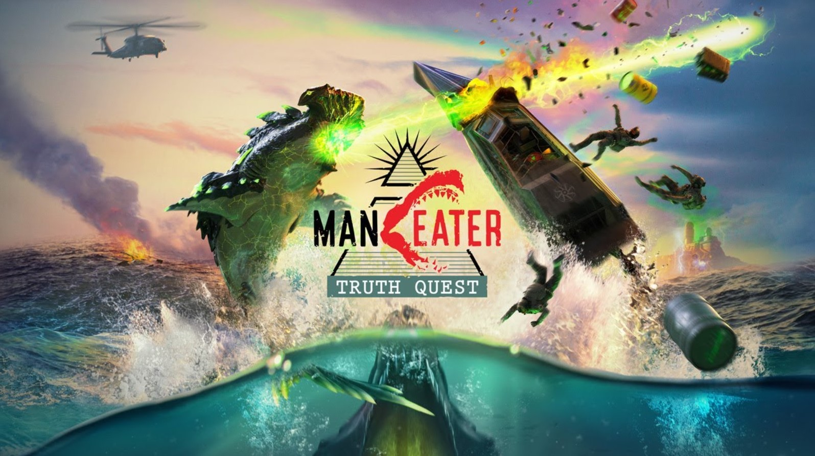 Maneater Truth Quest Download PC Game Full Version Free Download